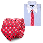 Star Wars Imperial Symbol Red Silk Tie