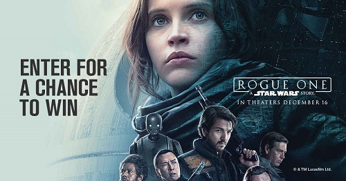 Star Wars: Rogue One Movie Contest