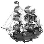 Metal Earth Iconx Pirates of the Caribbean Black Pearl (Black) Model Kit