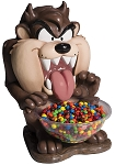Looney Tunes Taz Candy Bowl Holder