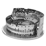 Metal Earth Iconx Roman Colosseum Ruins Steel Model Kit