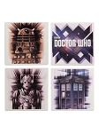 Doctor Who Character Coaster - Set of 4