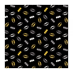 Batman Bat Symbols Pattern Bandana