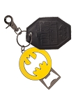 Batman Bat Symbol Bottle Opener Key Ring