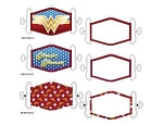 Wonder Woman 3 Pack Facemask Set