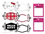 Hello Kitty 3 Pack Facemask Set