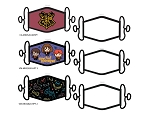 Harry Potter 3 Pack Facemask Set