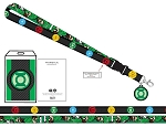 Green Lantern Colors of the Corps Lanyard