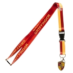 Harry Potter House Lanyard with Crest Charm - Gryffindor