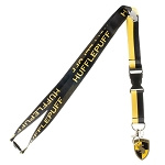 Harry Potter House Lanyard with Crest Charm - Hufflepuff