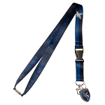 Harry Potter House Lanyard with Crest Charm - Ravenclaw