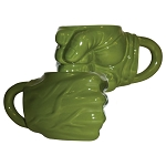 Hulk Green Fist 20oz. Sculpted Ceramic Mug