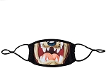 Looney Tunes Taz Mouth Facemask