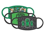 Minecraft Creepers 3 Pack Kids Facemask Set