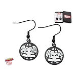 Spiderman Spider on Web Dangle Earrings