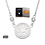Star Wars Galactic Empire Symbol Pendant w/18