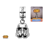 Star Wars 3D Stormtrooper Helmet Dangle Charm
