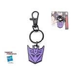 Transformers Decepticon Symbol Key Ring