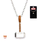 Thor Stainless Steel Hammer Pendant and Chain Necklace