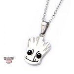 Guardians of the Galaxy Groot Stainless Steel Pendant with Necklace