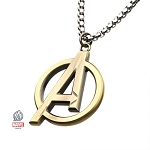 Avengers Cut Logo Pendant Necklace