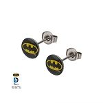 Batman Bat Symbol Stud Earrings