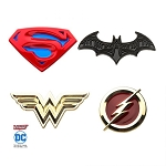 Justice League 4 Pack Pin Set