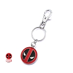 Deadpool Logo Stainless Steel Key Ring