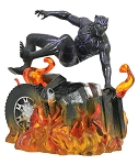 Marvel Gallery Black Panther Flaming Car PVC Statue