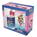 Sailor Moon Notebook, Mug, Key Ring 3pc Gift Set
