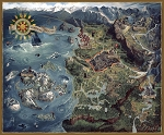 "The Witcher - Wild Hunt ""Witcher World Map"" 1,000 Piece Puzzle"