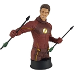 The Flash TV The Flash Training w/Oliver Polystone Bust - Previews Exclusive