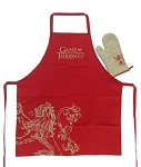 Game of Thrones House Sigil Apron & Oven Mitt - House Lannister