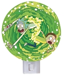 Rick & Morty Portal Night Light