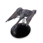 Star Trek Discovery Starships - #10 Klingon Qoj Class with Collector Magazine