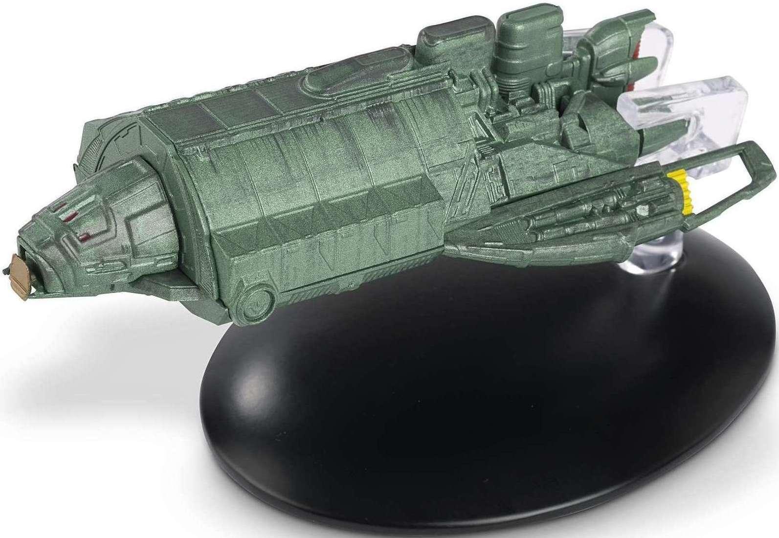 Star Trek Starships Klingon Rebel Transport Collection #154 NEW Magazine /& Part