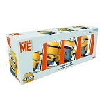 Despicable Me Minions 10oz Pint Glass - Set of 4