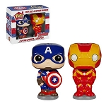 Captain America and Iron Man Pop! Salt & Pepper Shakers