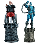Marvel Chess Collection - Professor X & Apocalypse Black & White King Set with Collector Magazine