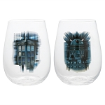 Doctor Who 18oz Stemless Wine Glass - Set of 2