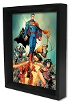 "Justice League - Rock 8"" x 10"" 3D Shadowbox"