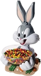 Looney Tunes Bugs Bunny Candy Bowl Holder