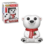 Ad Icons Coca-Cola Polar Bear Pop! Vinyl Figure