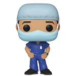 Heroes Frontline Workers Male #1 Pop! Vinyl Figure
