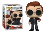 Good Omens Crowley with Apple Pop! Vinyl Figure