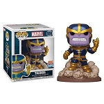 Marvel Deluxe Thanos (Snapping) Pop! Vinyl Figure - Previews Exclusive