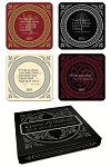 Game of Thrones Quotes Coaster - Set of 4