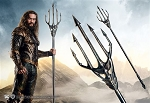 Justice League Aquaman Trident Prop Replica