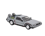 "Back to the Future 6"" Diecast Delorean Time Machine"