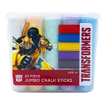 Transformers 20pc Jumbo Chalk Sticks